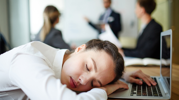 Sleepy At Work: Burden Of Insomnia In The Workplace